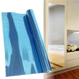 Reflective Mirror Stickers Wall Sticker Self-adhesive Wall S