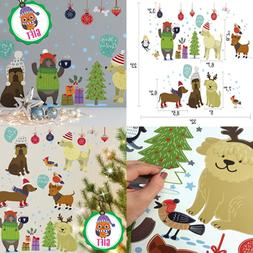 Dogs Wall Decals For Kids Cute Animal Decorations Stickers W