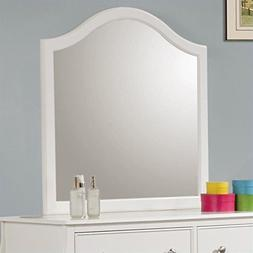 Coaster Dominique Mirror in White Finish