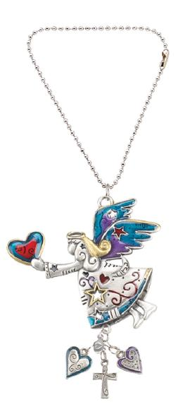 Ganz EK3058 Angel Color Car Charm