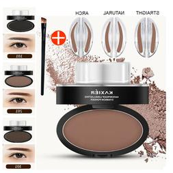 Eyebrow Stamp Powder Natural Delicate Shape Eye Makeup Water