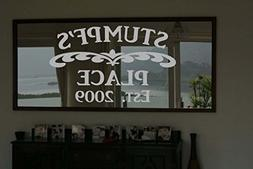family place frosted etched glass