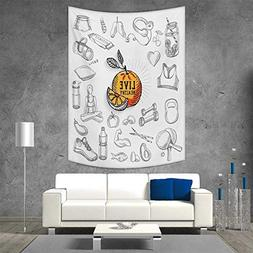smallbeefly Fitness Home Decorations Living Room Bedroom Liv