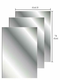 Flexible Mirror Sheets Soft Non Glass Cuttable Craft Plastic