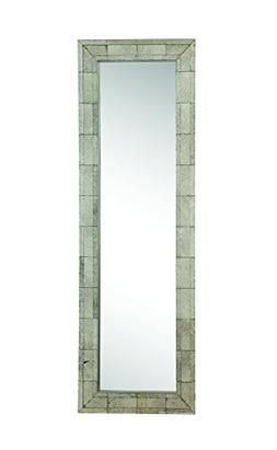 Floor Mirror With Antique Silver Finish Frame By Coaster Fur