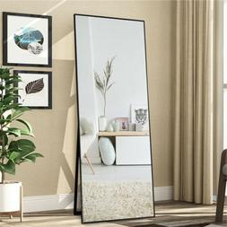Floor Mirror Standing Makeup Mirrors Wall Mirror Ornament Fu
