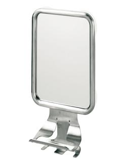 InterDesign Forma Suction Bathroom or Shower Shaving Mirror