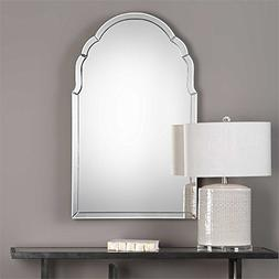 Uttermost Frameless Arch Mirror, Size One Size - White