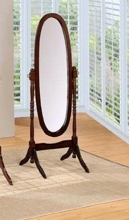 Free Standing Floor Mirror Stand Up Adjustable Full Length W