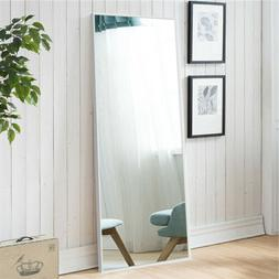 Full Length Floor Mirror Wall Mounted Hanging Leaning Lounge