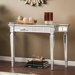 Glenview Glam Mirrored Console Table