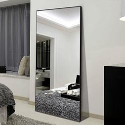 "H&A 65""x22"" Full Length Mirror Bedroom Floor Mirror Standing"