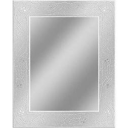 Head West Crystal Mosaic Rectangle Mirror, 23-1/2 by 29-1/2-