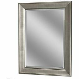 Headwest 8013 Pave Wall Mirror In Brush Nickel, Home &amp Ki