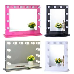 Chende Hollywood Makeup Vanity Mirror with Light Aluminum St