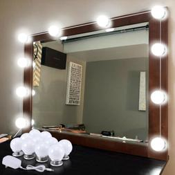 Hollywood Style LED Vanity Mirror Lights Kit with Dimmable L