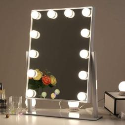 Chende Hollywood Table Top Makeup Mirror Vanity Mirror with