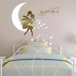 I Love You to the Moon and Back Wall stickers for Children's