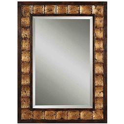 Uttermost Justus, Mirror 1.25 x 28 x 38, Gold Leaf