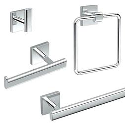 Gatco KA-ELE-4-PC Elevate 4-Piece Bathroom Accessory Kit, Ch