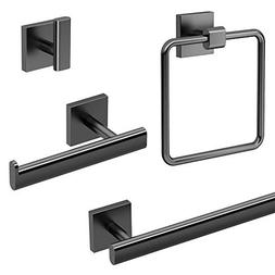 Gatco KA-ELE-4-MB Elevate 4-Piece Bathroom Accessory Kit, Ma