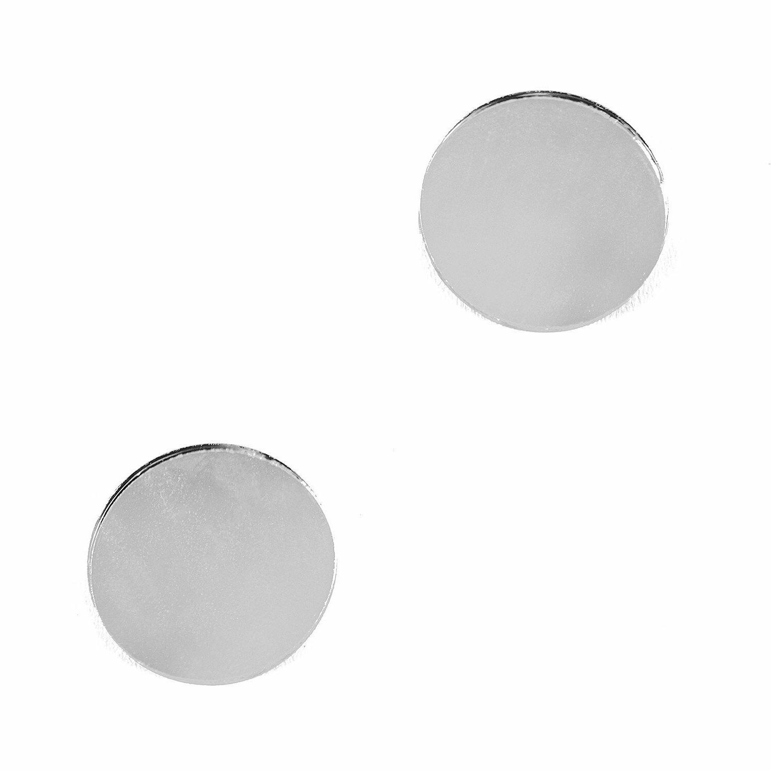 "1"" Mirrors Set Circles 50pc Small Round New"