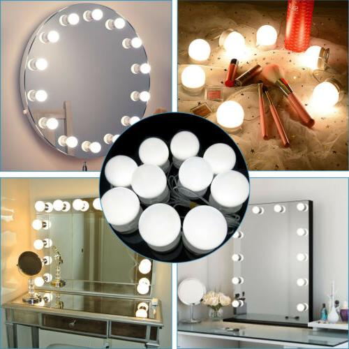 10 Bulbs LED Vanity Dimmable Lamp for Makeup