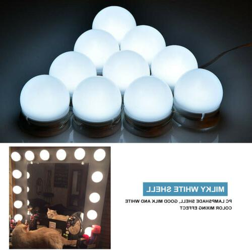 10 bulbs hollywood style led vanity dimmable