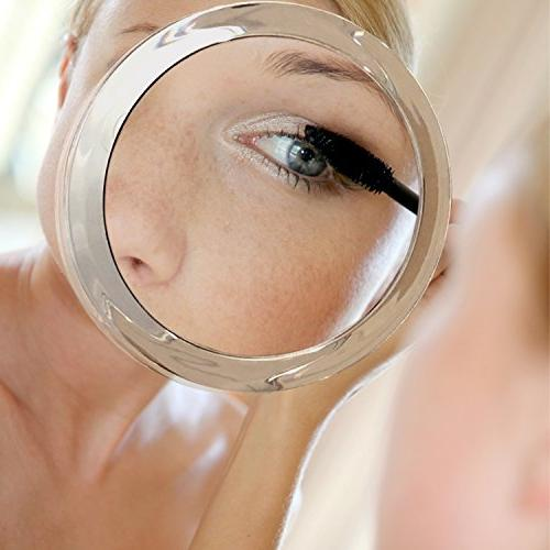 15X Magnifying Use Application - Tweezing – Blackhead/Blemish Mirror Three Cups for 6 Inch