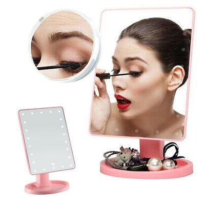 16/22 LED Makeup Mirror Touch Screen