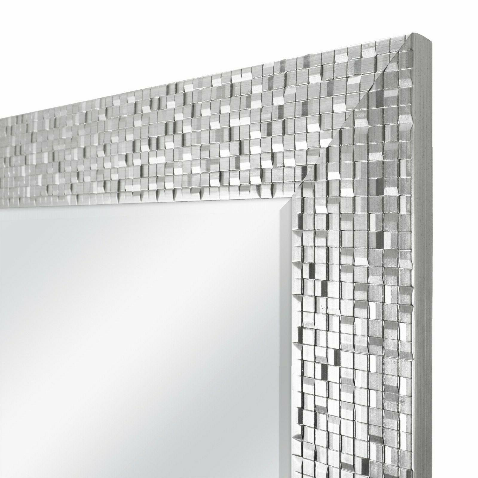 2 Pack Silver Mosaic Room