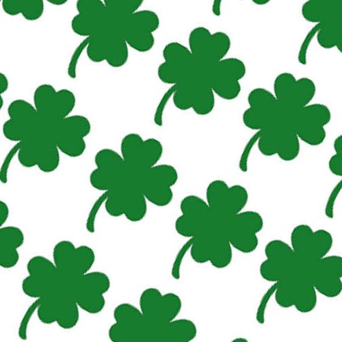 20 shamrock stickers for decal home decor