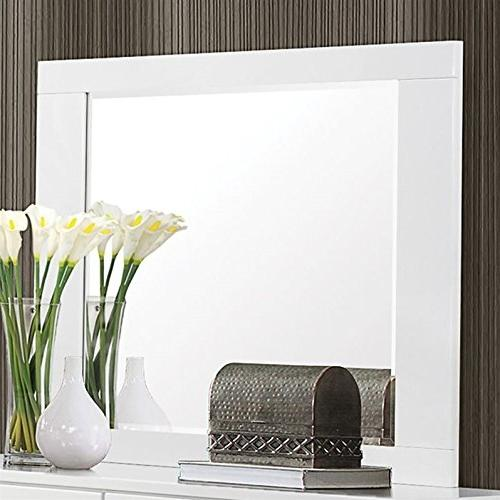Coaster Furnishings Felicity Mirror White