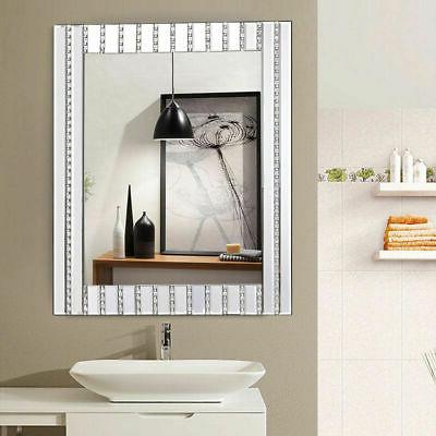 "23.5"" x Wooden Frame Wall Mirror Resin"