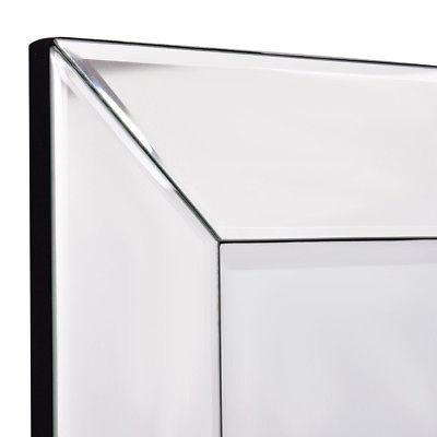 "23.5"" x Wall-Mounted Vanity Mirror Glass Bathroom"