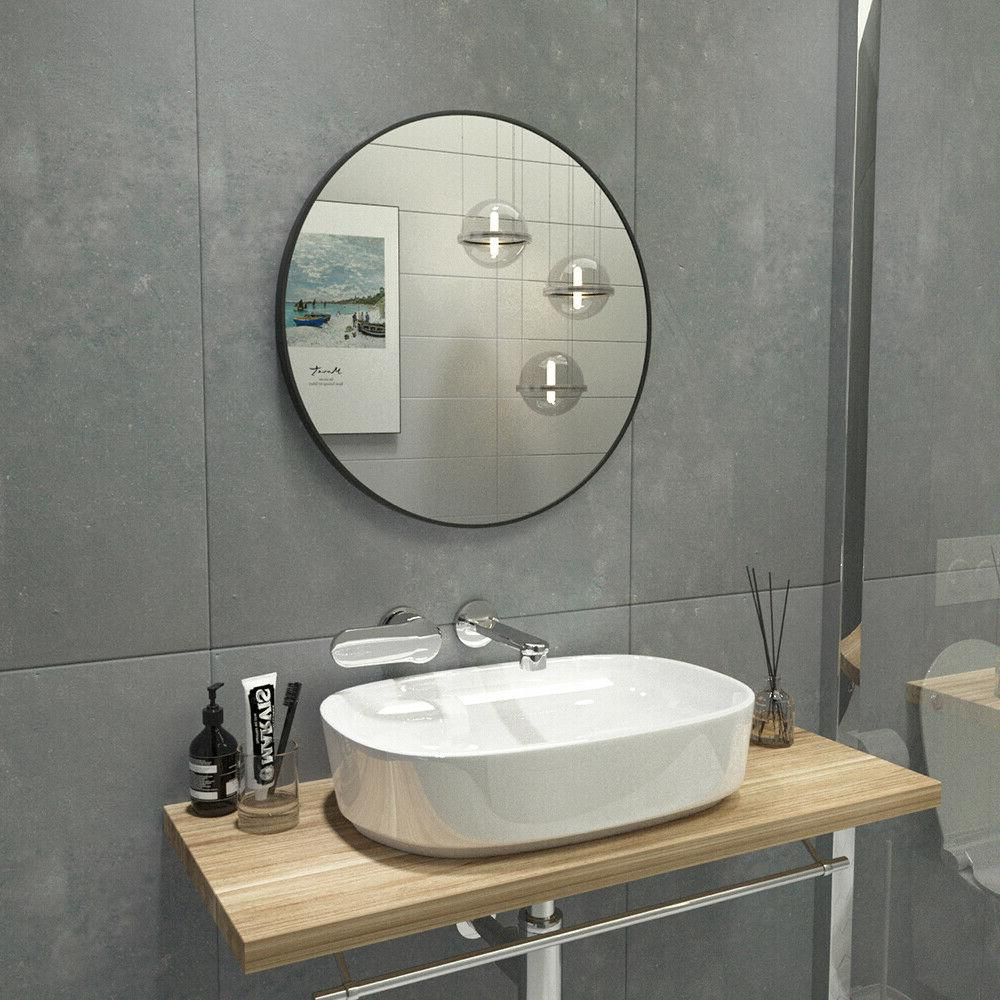 24 inch Mirror Metal Frame Fit for room, Bathroom