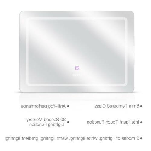 LED Wall Mirror Bathroom Mirror Dimmable