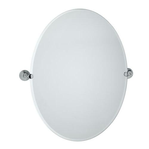 Gatco 4359LG Charlotte Large Oval Wall Mirror Chrome