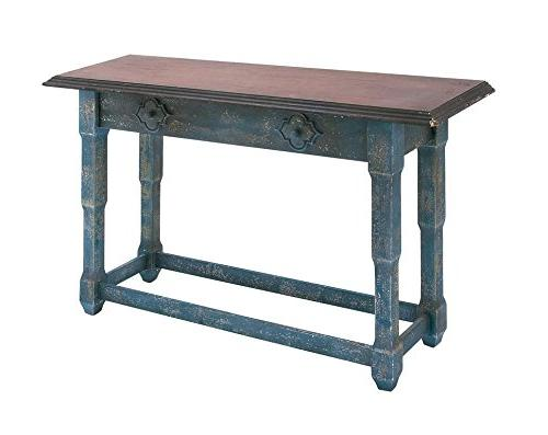 50943 wood console table