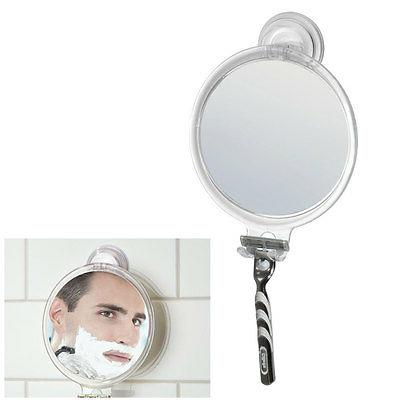 Interdesign® 52120 Powerlock Suction Fog Free Mirror, Clear