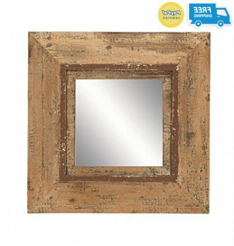 69268 looking glass style mirror with old