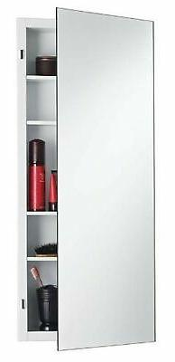 Jensen 835P24WHD Focus Medicine Cabinet with Polished Mirror