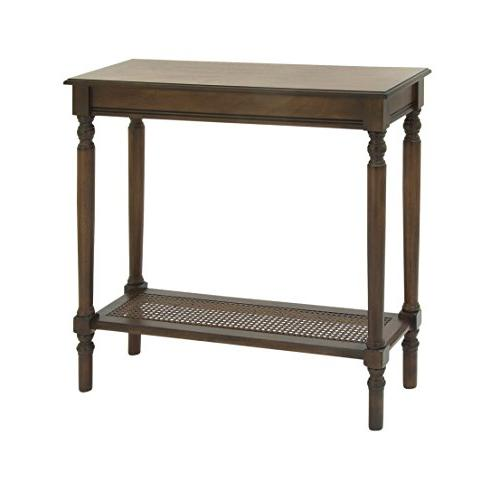 96382 wood console table