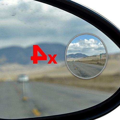Best Blind Spot Mirror - 4 Pack Blind Spot Mirror For SUV &