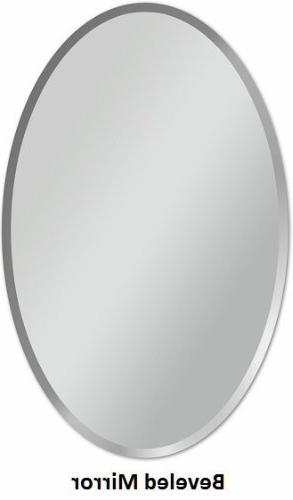 "Fab and Oval Wall Mirror Hooks, 22"" 30"","