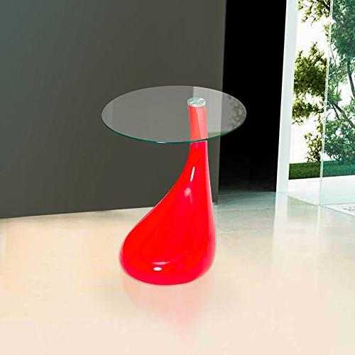 """Fab Glass and Tear Side with Round 18"""" W,"""
