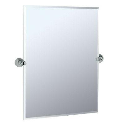 Gatco 4359s Charlotte Rectangle Wall Mirror, Chrome