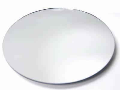 "Set of 12 10"" Round WGV Brand Glass Mirrors for Wedding & Ba"