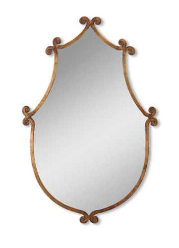 Uttermost 13648 Ablenay Mirror - Antique Gold
