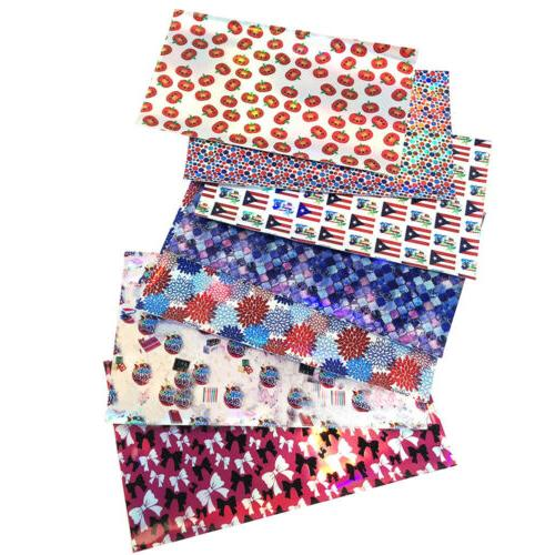 FAUX LEATHER PATTERNED PRINT  SIZE A4  BOWS//CRAFTS